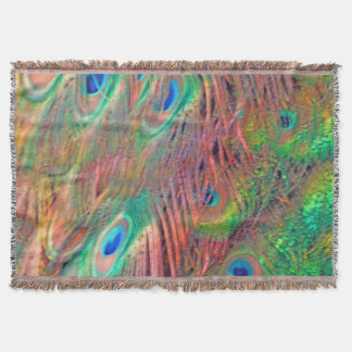 Rainbow Deco Throw Blanket
