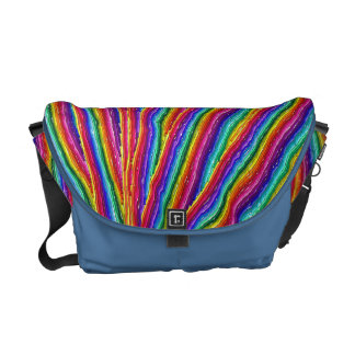 Rainbow design Messanger Bag Courier Bags