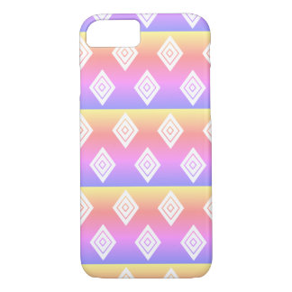 Rainbow Diamond Pattern iPhone Case