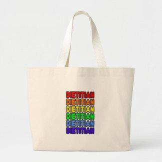 Rainbow Dietitian Jumbo Tote Bag