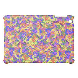 Rainbow Digital Camouflage iPad Mini Cover