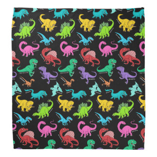 Rainbow Dinosaurs Kerchief