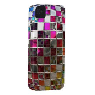Rainbow Disco Ball Mirrors iPhone 4 Cover