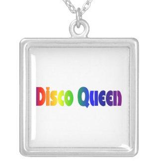 Rainbow Disco Queen Pendant