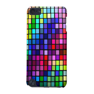 Rainbow Disco  Squares iPod Touch (5th Generation) Case