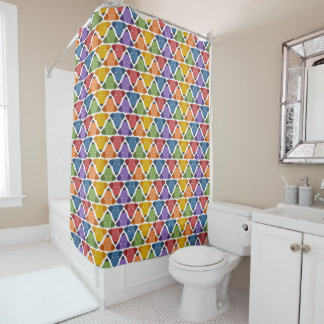 Rainbow Dogs Shower Curtain