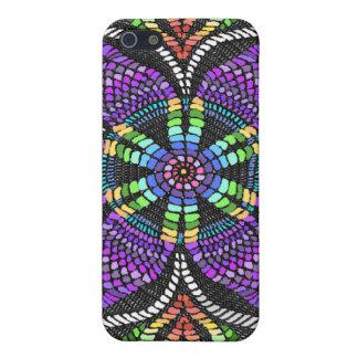Rainbow Doily Mosaic iPhone 5/5S Covers