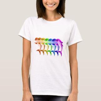 Rainbow Dolphins T-Shirt