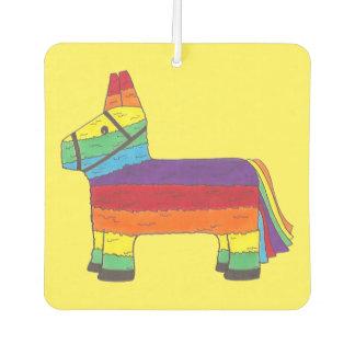Rainbow Donkey Piñata Cinco de Mayo Pride Fiesta Car Air Freshener