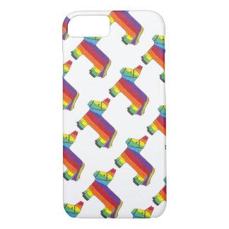 Rainbow Donkey Piñata Cinco de Mayo Pride Fiesta iPhone 7 Case