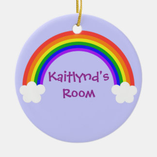 Rainbow Door Hanger Christmas Ornament