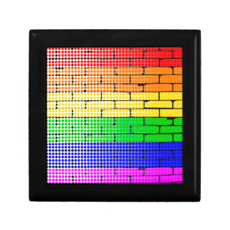 Rainbow Dot Matrix Gift Box