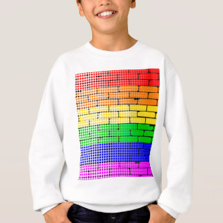 Rainbow Dot Matrix Sweatshirt