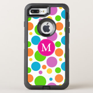 Rainbow Dots OtterBox Defender iPhone 8 Plus/7 Plus Case