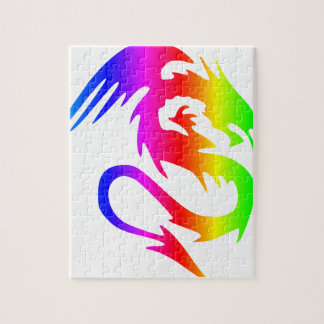 Rainbow Dragon 4 Jigsaw Puzzle