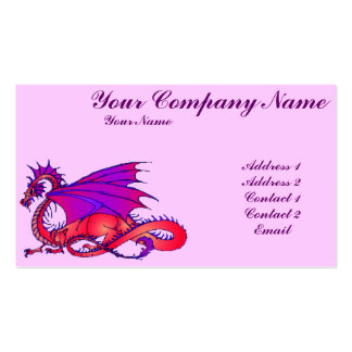 Rainbow Dragon Business Card Templates