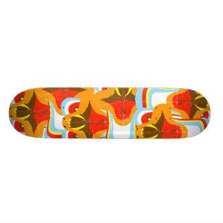 Rainbow Dragon Face 20.6 Cm Skateboard Deck