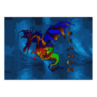 Rainbow Dragon Pack Of Chubby Business Cards