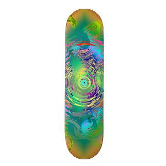 Rainbow Dragon Twirl Skate deck