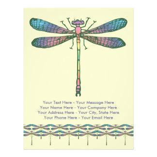 Rainbow Dragonfly 21.5 Cm X 28 Cm Flyer