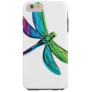 Rainbow Dragonfly Tough iPhone 6 Plus Case