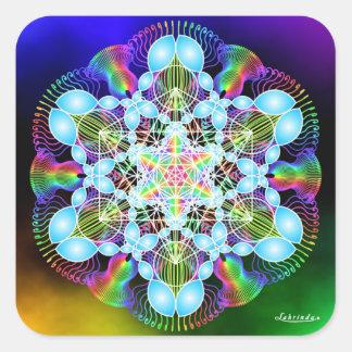 Rainbow Dreaming Square Sticker
