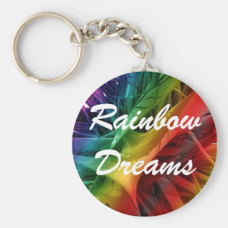 Rainbow Dreams Key Ring