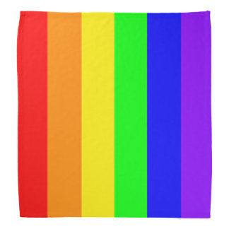 Rainbow Drop Bandana