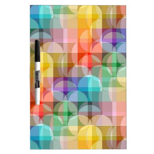 Rainbow Dry Erase White Board