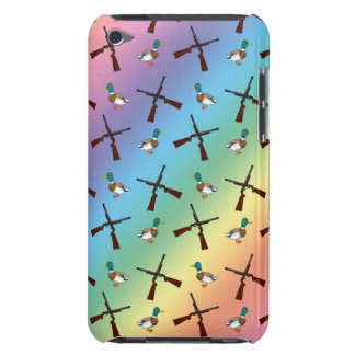 rainbow duck hunting pattern iPod touch case