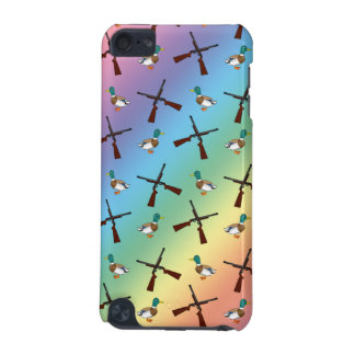 rainbow duck hunting pattern iPod touch 5G cover
