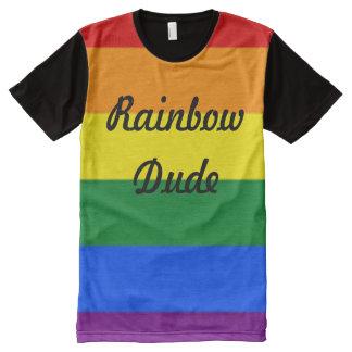 Rainbow Dude All-Over Print T-Shirt