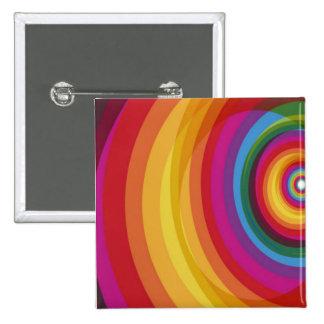 Rainbow Eclipse Pinback Buttons