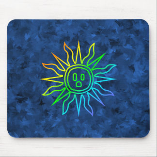Rainbow Electric Sun Mouse Pad