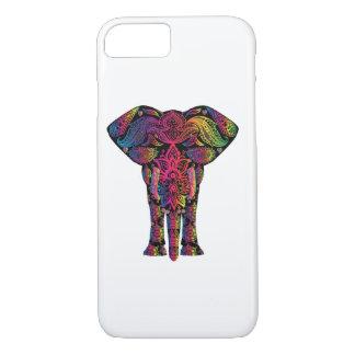 Rainbow Elephant Bohemian Hippie iPhone 7 Case