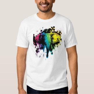 Rainbow Elephant Tshirt