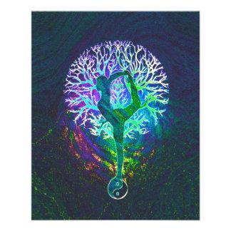 Rainbow Energy Yin Yang Yoga 11.5 Cm X 14 Cm Flyer