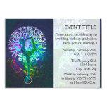 Rainbow Energy Yin Yang Yoga 13 Cm X 18 Cm Invitation Card