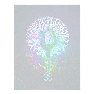Rainbow Energy Yin Yang Yoga 21.5 Cm X 28 Cm Flyer