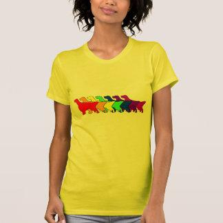 Rainbow English Setter Tshirt