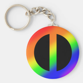 Rainbow Equality Keychain