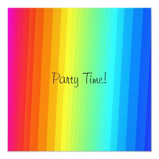 Rainbow Event Party Invitation