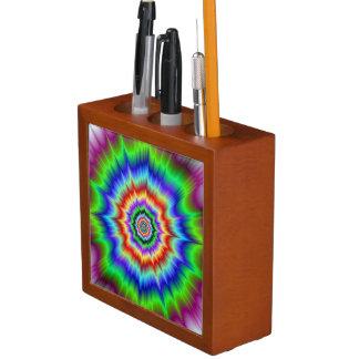 Rainbow Explosion Desk Organizer