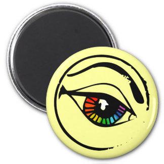 Rainbow Eye Magnet