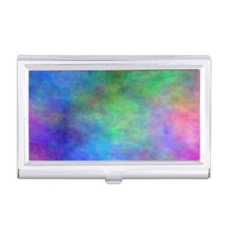 Rainbow Faded Case For Business Cards