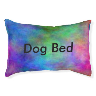 Rainbow Faded Small Dog Bed
