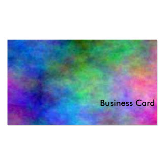 Rainbow Faded Pack Of Standard Business Cards