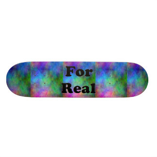 Rainbow Faded Skate Board