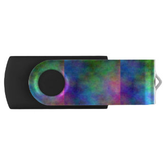 Rainbow Faded Swivel USB 2.0 Flash Drive