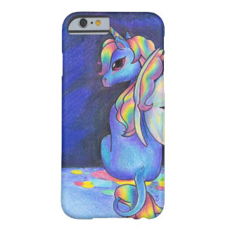 Rainbow Faerie Unicorn Barely There iPhone 6 Case